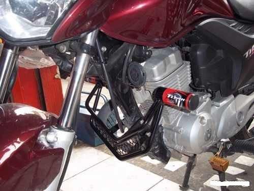 protetor motor (mata cachorro) titan 150 / fan 150