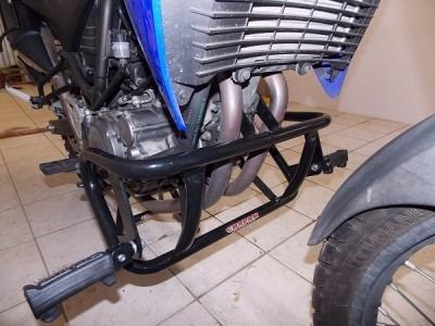 protetor motor mata cachorro yamaha xt 660r com pedaleira