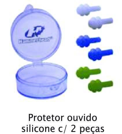f0b1ce8dc Protetor Ouvido Silicone Com 2 Peças Hammerhead - R  21