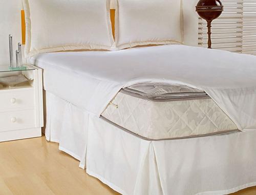 protetor para colchão queen impermeabilizado 01 pç - lindo