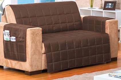 protetor para sofá capa 2 e 3 lugares microfibra matelado