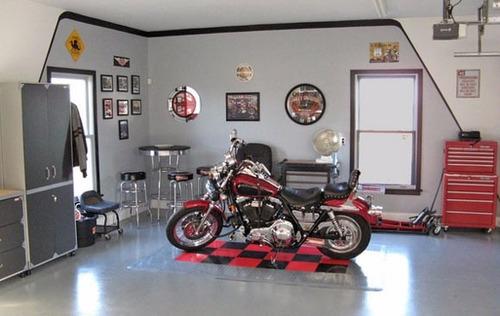 protetor pezinho tapete emborrachado p motos garagem gourmet