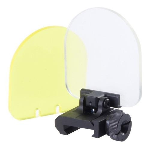 protetor red dot luneta 2 lentes trilho 20/22mm universal