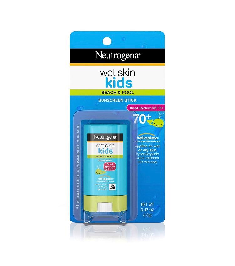 504cf94ba Protetor Solar Bastão Kids Neutrogena- Fps 70 Wet Skin Kids - R  79 ...