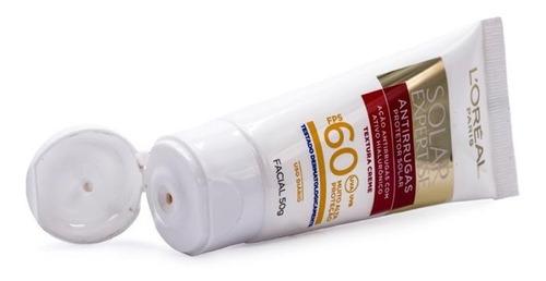 protetor solar facial l'oréal antirrugas fps 60
