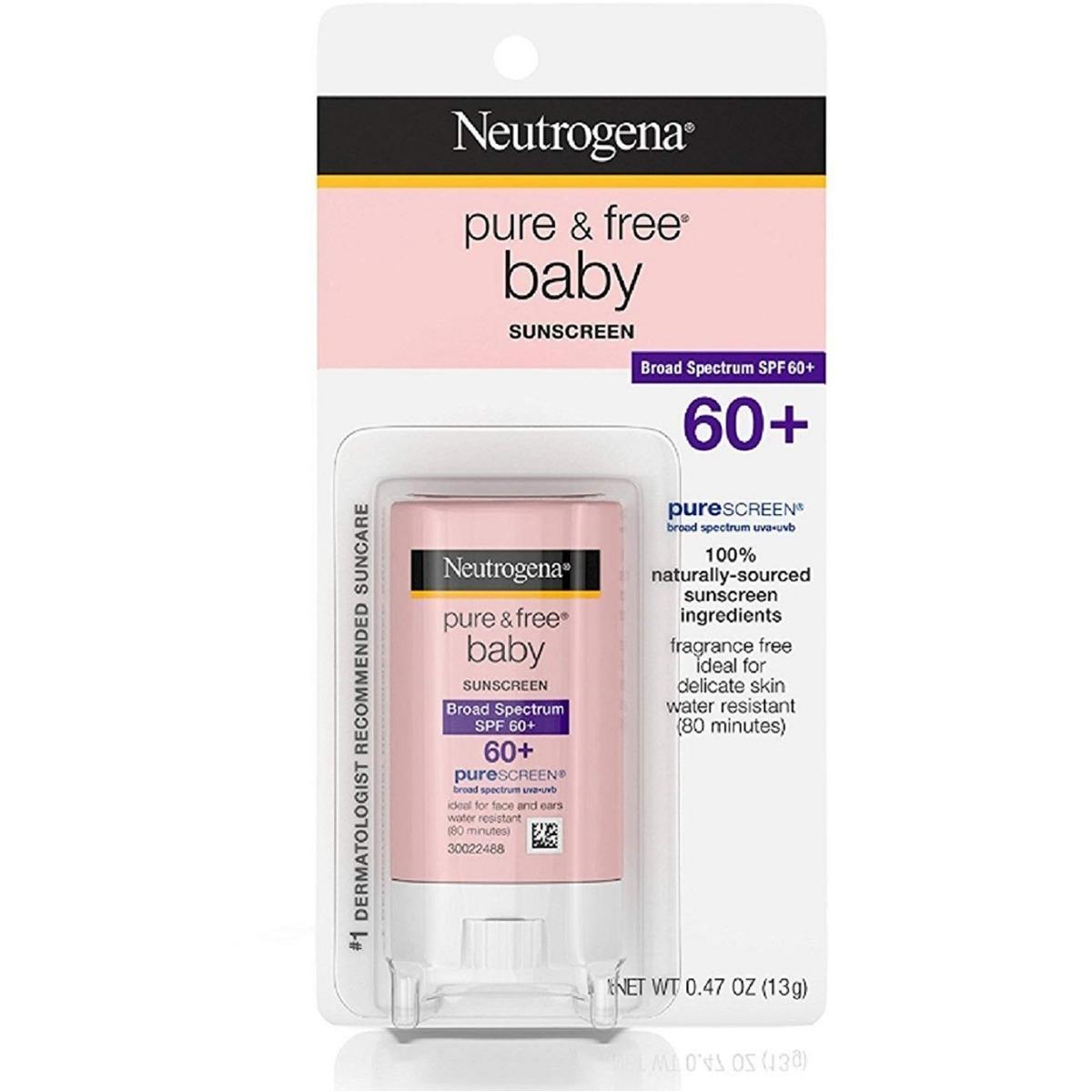 3f5c926fb Protetor Solar Neutrogena Pure   Free Baby Spf 60 - R  79