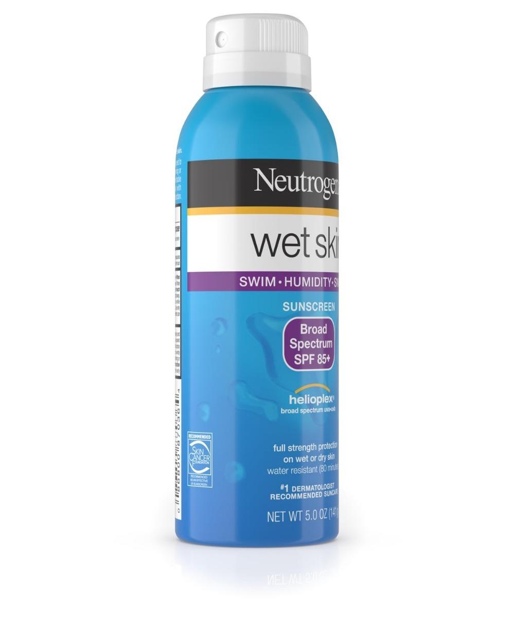 Protetor Solar Neutrogena Wet Skin Sunscreen Spray Fps85+ - R  99 93c964e84dc19