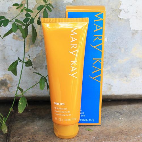 protetor solar para o rosto e corpo fps 30 mary kay 118ml
