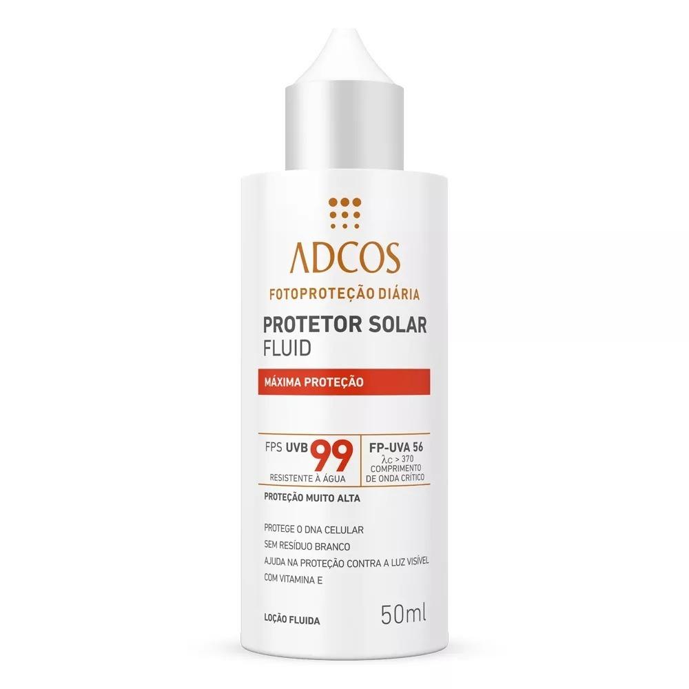 Protetor Solar Máxima Proteção Adcos Fps 99 Fluid 50ml - R  134,90 ... 266e626989