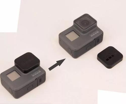 protetor tampa proteção lentes gopro go pro hero 5, 6 e 7