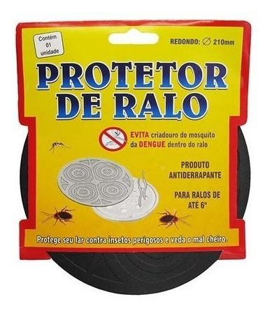 protetor  tampa ralo mau cheiro barata escorpião red.16,5cm