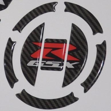 protetor tankpad tanque bocal m4 moto suzuki gsx r srad 750