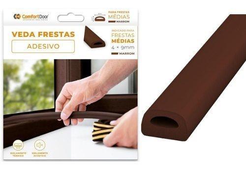 protetor veda frestas para portas janelas comfortdoor 4mm