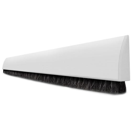 protetor veda porta adesivo dupla face 80cm universal branco
