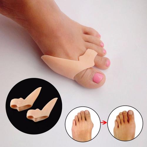 protetores de joanetes separador de dedos cor pele gel