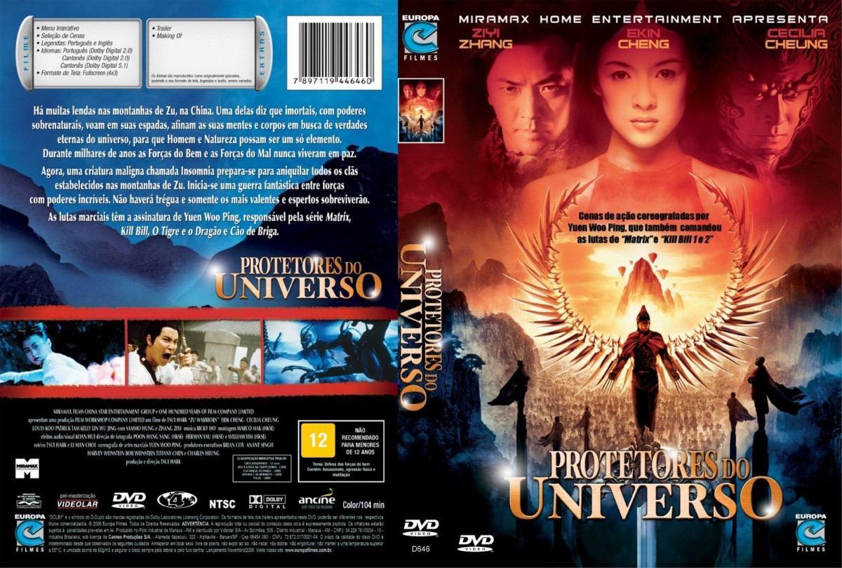 protetores do universo dublado