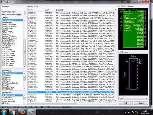 proteus 8.5 simulador electronico