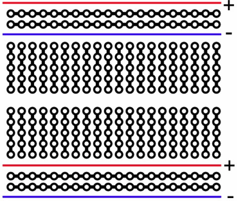 protoboard 400 furos para arduino ou pic