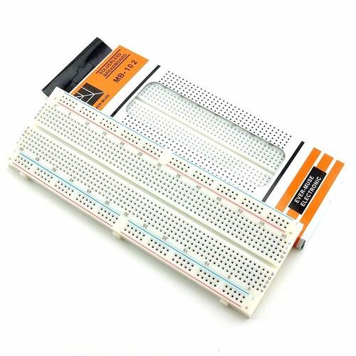 protoboard 830 puntos, breadboard 830 puntos, proto, arduino