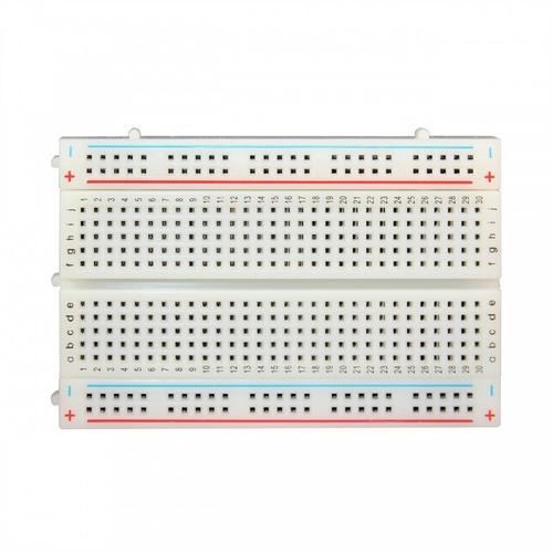 protoboard 8,5 cm x 5,5 cm 400 puntos