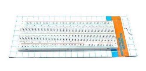 protoboard breadboard 830 puntos experimentador arduino