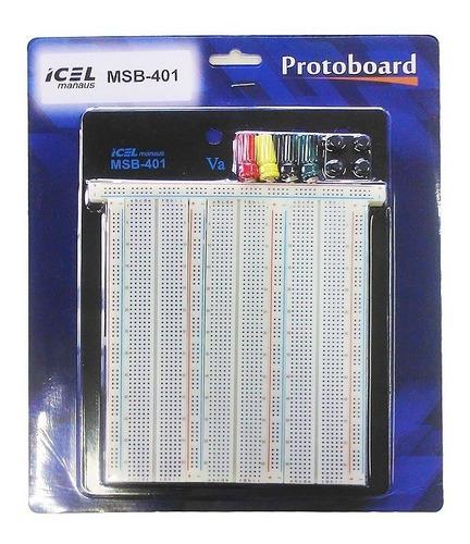 protoboard msb-401 icel