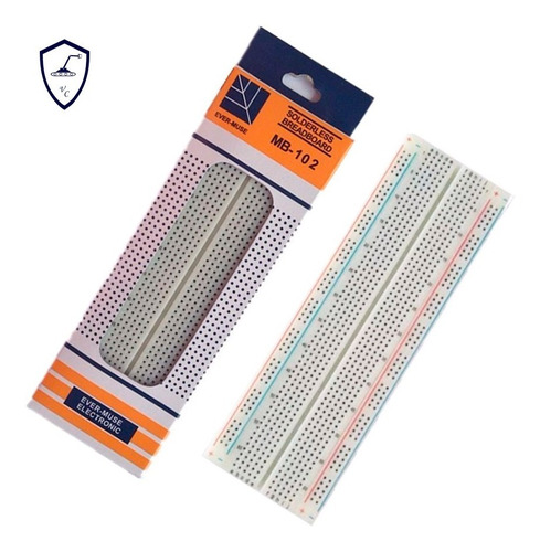 protoboard/breadboard 830 furos