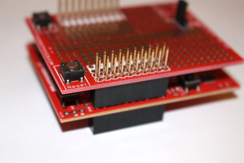 NKC Electronics ProtoBooster Prototyping kit BoosterPack for TI LaunchPad
