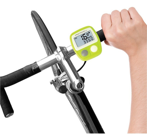 protocol bike brain ciclismo distancia velocidad digital