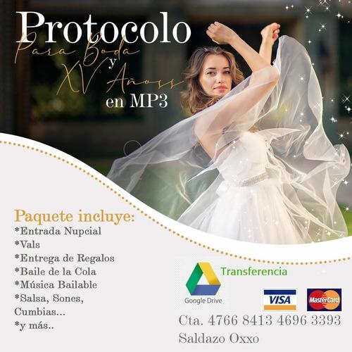 protocolo bodas y xv años mp3
