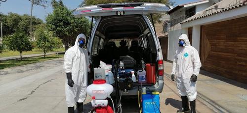 protocolos de bioseguridad ,fumigacion y  desinfección