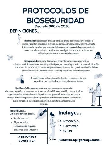 protocolos de bioseguridad - todos los sectores