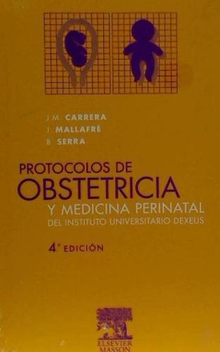 protocolos de obstetricia y medicina perinatal del instituto