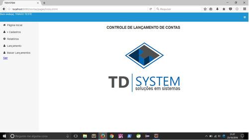 protótipo sistema java web com código fonte