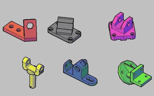 prototipos, dibujados impresion 3d piezas mecanicas o raras