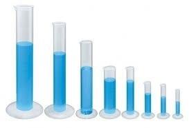 proveta graduada 100 ml. em polipropileno