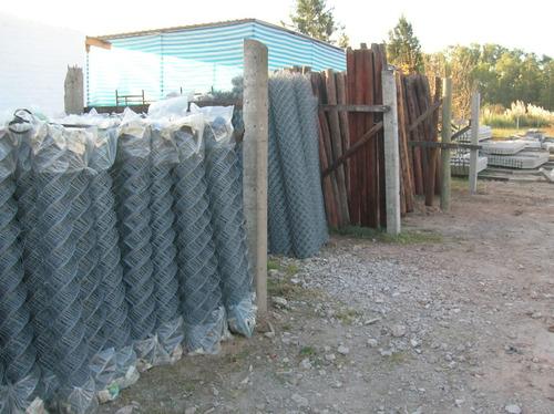 provision e instalacion de alambrados romboidales -