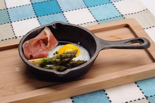 provolonera o mini sarten para queso hierro fundido adeleste