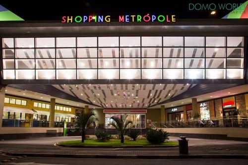 próx. ao shopping metrópole - sala nova! - sa01186 - 34298115
