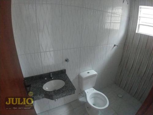 próximo ao mar, entrada r$ 44 mil e saldo financiado pelo banco. sobrado com 2 dormitórios à venda, 80 m² por r$ 220.000 - jardim eneida - itanhaém/sp - so0806