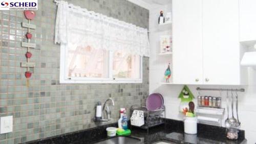 próximo ao metrô jabaquara: sobrado de condomínio com 3 dormitórios, 3 vagas. - mc3276