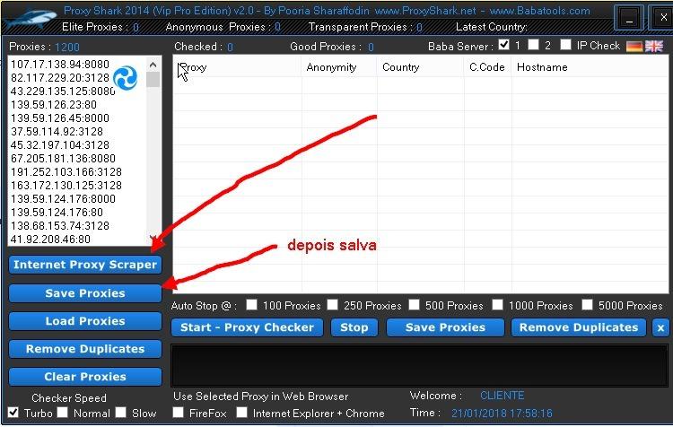 Proxy Shark Vip Pro, Para Quem Precisa De Proxy