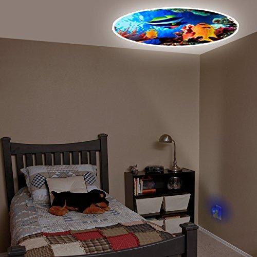 proyectables tropical fish led plug-in luz de la noche, 112