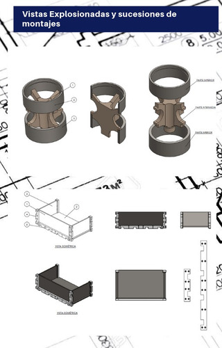 proyectista diseño 3d -planos-dibujante-autocad-solidworks