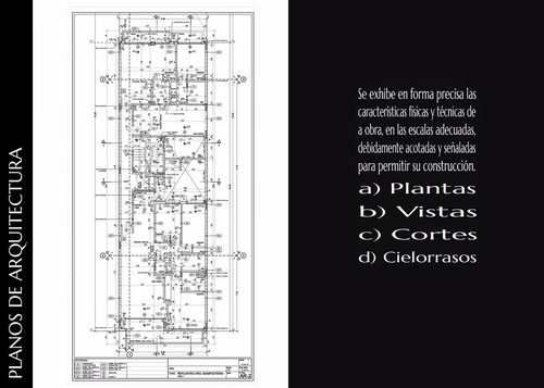 proyectista planos municipales - dibujante autocad - render