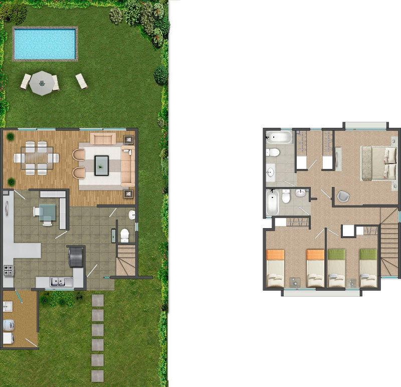 proyecto alto las perdices - casas