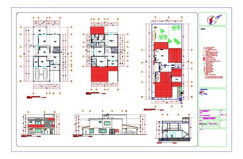proyecto arquitectónico, planos para construcción