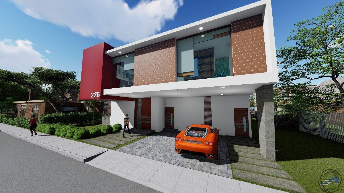 Proyecto arquitectonico planos renders 3d recorridos for Programa para construir casas 3d
