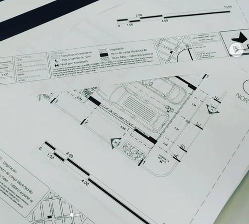 proyecto arquitectónico residencial hasta 200 m2