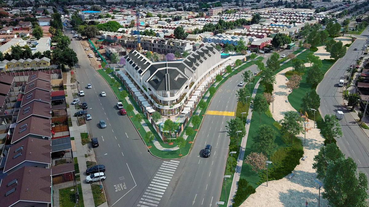 proyecto centro urbano alto el rosal